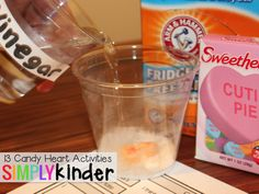 13 Easy Candy Heart Activities to support science, literacy, and math!