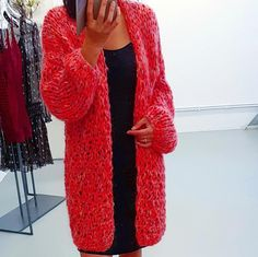#kirobykim #red #knitted #chunkyknit #fashion #style #comfy #uniquebrand #luxury #redislove
