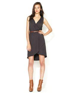 Avaleigh Kristina Cross Body High Low Dress