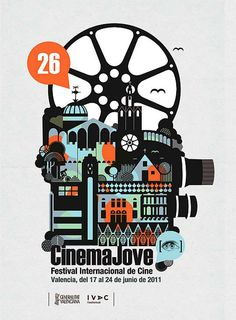 Poster for the International Film Festival of Valencia