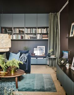 Learn how you can personalise your living room using a mix of furniture and your private collections. IKEA offers a wide range of modern furniture, such as sofas, coffee tables and cabinets that will make your living room more inviting!