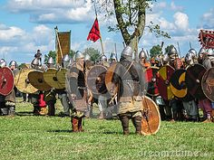 Festival of historical reconstruction of Vikings. Wolin. Poland.