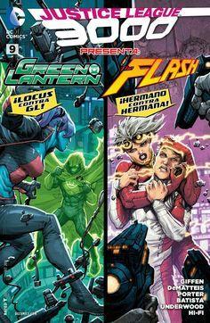 Leer Comics Online : Justice League 3000 9 - El escape