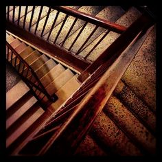 I fell down the bottom tier of these stairs once. Five stitches in my knee cap…