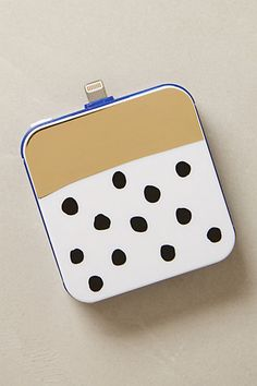 Gold Bar Dotted iPhone 5 Backup Battery #anthrofave