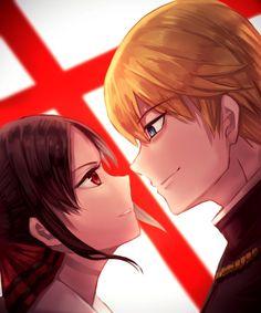 Anime kaguya-sama - Kaguya Sama Love is War Tokyo Ghoul, Otaku, Spice And Wolf, Anime Love Couple, Best Waifu, Fantasy Warrior, Anime Ships, Goblin, Anime Couples