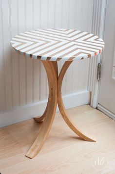 Awesome IKEA side table makeover.