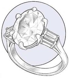 Professional Jeweler Archive: Fabricating a Three-Stone Ring