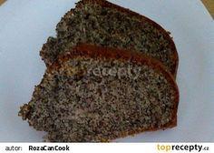 Nejlepší maková bábovka recept - TopRecepty.cz Bread Recipes, Banana Bread, Food And Drink, Baking, Desserts, Breads, Cakes, Flat, Sweet Treats