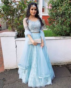 If you are looking for some unique ethnic wear this festive season, check out some gorgeous lehengas, kurtas, and more by Pakistani Bridal Designers. Indian Fashion Dresses, Indian Bridal Outfits, Indian Gowns Dresses, Dress Indian Style, Indian Designer Outfits, Designer Dresses, Pakistani Clothing, Abaya Style, Muslim Fashion