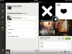 Spotify On iPad Bests iTunes Through Inviting Design | Co.Design | business + design