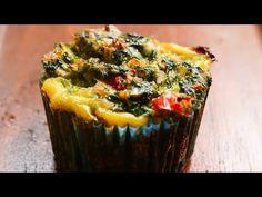Brioșe cu ou, șuncă și spanac - YouTube Muffin, Cooking Recipes, Breakfast, Youtube, Food, Morning Coffee, Chef Recipes, Essen, Muffins