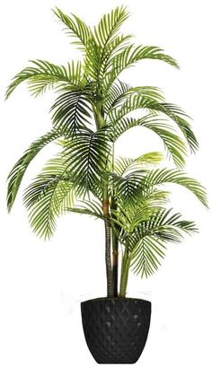 Tall Palm Tree Artificial Indoor/ Outdoor Lifelike Faux in Fiberstone Wood Trunk Planter By MinxNY Potted Palm Trees, Potted Palms, Palm Plant, Trees To Plant, Topiary Plants, Ivy Plants, Real Plants, Foliage Plants, Faux Succulents
