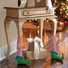 Elf Furniture Leg Covers. Adorable!!