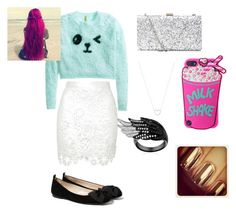 """""""Lily's creation"""" by softball-lover-forever11 ❤ liked on Polyvore featuring moda, H&M, MANGO, Tiffany & Co., women's clothing, women, female, woman, misses e juniors"""