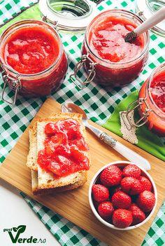 Cea mai buna dulceata de capsuni din lume! Fara zahar! - Gust Verde Grapefruit, Diabetes, Mai, Food, Green, Essen, Meals, Yemek, Eten
