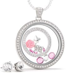 • Mother's Day Locket • These gorgeous locket sets are the perfect Mother's Day gift! Say thank you for everything your mom, grandma or other amazing woman in your life has done for you with one of these pre made customized locket. Starts at $52. You can also build your own from scratch on my website. Please go to www.jenniferschicboutique.origamiowl.com to purchase  let me know if you have any questions! Jewelry Necklaces