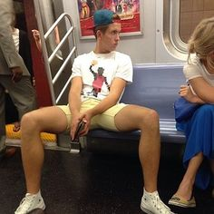 MTA New York Subway Officials To Shame People Sitting With Their Legs Spread