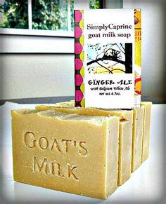 Ginger Ale soap!