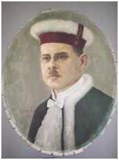 OSCAR PEREIRA DE CARVALHO, 1954. Óleo sobre tela, 60 x 49 cm. Autora: Antonieta Santos Feio.