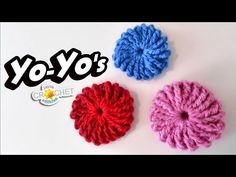 Scrap Buster Alert! Make up a pile of these for future projects and don't waste any yarn! Treble Crochet Tutorial: https://youtu.be/stDeWEFgooU Shop on Etsy!...