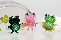 3D Beaded Frog PATTERN