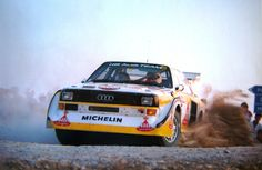 Walter Röhrl in an Audi Quattro S1 during Rallye Sanremo 1985 [1600x1039]