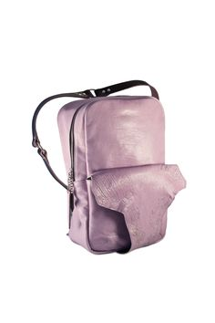 THEOREM 1 // limited violet Mrs Herskin handcrafted backpack