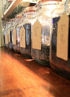 Loose leaf teas at Hatties Baslow www.hattiesbaslow.co.uk