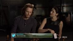 (video) - Fan Q&A with Sam & Caitriona #2