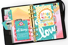 walk through Heather's faith planner, and how she put it together using the Illustrated Faith Whatever Is Lovely and Genesis Collections by Bella Blvd
