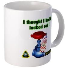 Control of hazardous energy. Lock out/tag out is a way to protect your employees by guarding against unexpected machine start-ups and ensuring that machines remain completely and temporarily turned of Industrial Safety, Community Boards, Thoughts, Mugs, Tumblers, Mug, Cups, Ideas