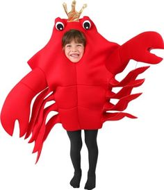 Child's King Crab Costume (Size: Small 4-6) | DiyHalloweenDepot.com -- #HalloweenCostumesForBoys