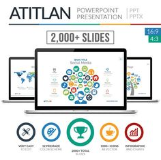 powerpoint templates | powerpoint templates | pinterest | business, Atitlan Powerpoint Presentation Template Free Download, Presentation templates