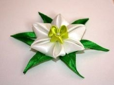 Hair Clip (Satin Ribbon) ~ ?