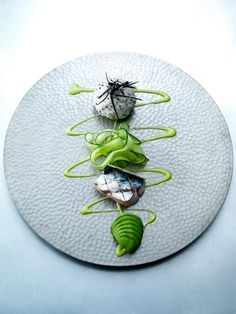 artful food plating