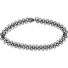 Boohoo Rhea 90's Stretchy Tattoo Choker ($5) ❤ liked on Polyvore featuring jewelry, necklaces, accessories, choker, stretchy choker, stretchy choker necklace, stretch tattoo choker, adjustable necklace and choker necklace