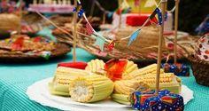 Numa festa junina, comidas e bebidas típicas são indispensáveis