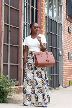 Maaike Maxi Skirt by Mille Collines