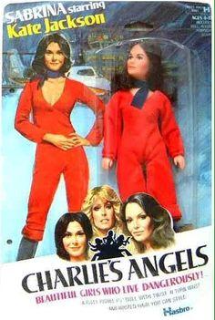 Hasbro Charlie's Angels, Kate Jackson 'Sabrina' action figure.
