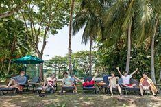 [스타캐스트] 와~ 여름이다! 미리 떠난 방탄소년단 여름 휴가 in 코타키나발루! :: 네이버 TV연예