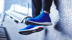 the latest fafce cf8cd Adidas ACE 16+ PureControl Ultra Boost Blue Blast BY9090