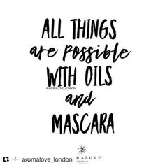 Somedays it's mascara, others it's tacosand today happens to be Tuesday. But every day with oils is a blessing. Fill in the blank. All things are possible with oils and ________. Thank you ・・・ True or false? Oil Quote, A Blessing, Doterra, Mascara, Tuesday, Fill, Essential Oils, Blessed, Wellness
