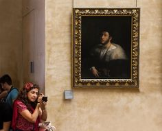 Fashion Emergency at the Louvre by espinozr,