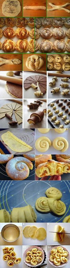 Красивая выпечка // Narina Medvedeva Medvedeva, Danishes, Cookies And Cream, Naan, Confectionery, Toffee, Crackers, Baked Goods, Food And Drink