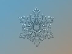 Ornate pattern, real snowflake photo by Alexey Kljatov - Photo 57011840 - 500px