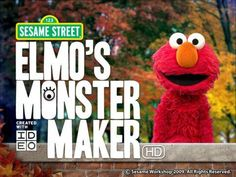 Discount: Elmo's Monster Maker HD is now 1.99$ (was 2.99$).