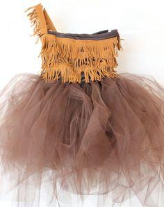 Little Girl Indian Halloween Costume - Pocahontas Halloween Costume #EasyNip