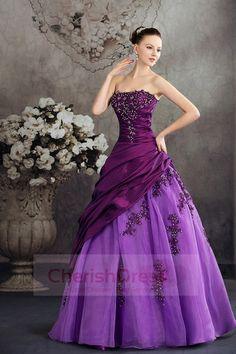 Purple Wedding Dresses Classic Cherishdress Wedding Dress
