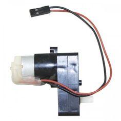 100 RPM #SingleShaft Plastic Gear #BOMotor Rectangle Black For #Arduino #Raspberry-Pi #Robotics